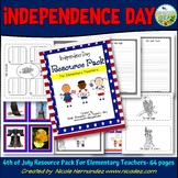 Independence Day 4th of July Resource Pack For Elementary Teachers