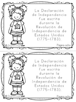Fourth of July Independence Day Activities Spanish Edition