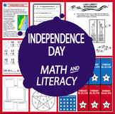 Independence Day National Holidays Unit–THREE 4th of July Activities & Lessons
