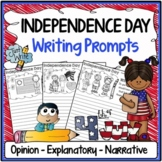 Independence Day Writing Prompts {Narrative, Informative & Opinion Writing}