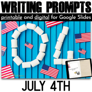 Independence Day Writing Prompts {36 cards}