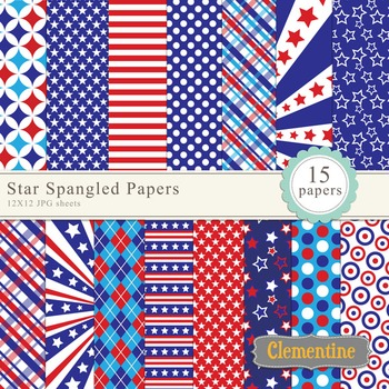 Independence Day paper pack 12x12