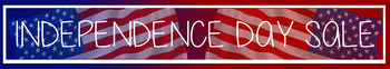 Independence and Canada Day, Memorial Day Banners