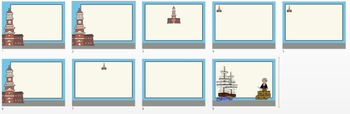Independence and Colonial Themed PowerPoint set