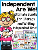 Independent Are We- Ultimate Bundle for Word Work & Writing