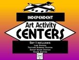 Independent Art Activity Centers, Set 1