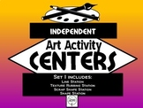 Independent Art Activity Centers, Set 1