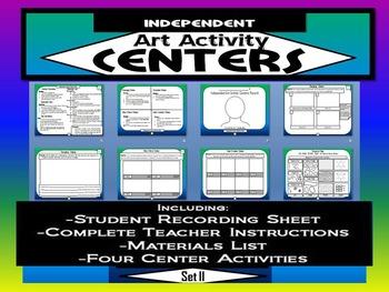 Independent Art Activity Centers, Set 2