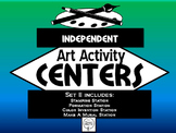 Independent Art Activity Centers, Set 2