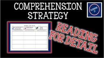 Independent Book Activity and Graphic Organizer for Readin