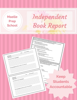 Independent Book Report - Keep Students Accountable