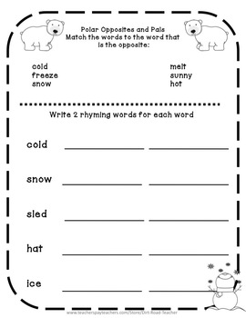 Independent Busy Work for First Grade Freebie
