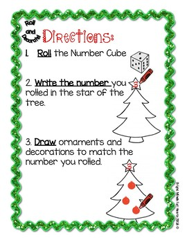Independent Christmas Math Centers