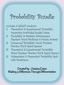 Independent & Dependent Probability Bundle - 5 Great Products!