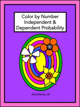 Independent & Dependent Probability Color by Number