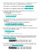 Independent & Dependent Variables in Math Situations (2 worksheet bundle)