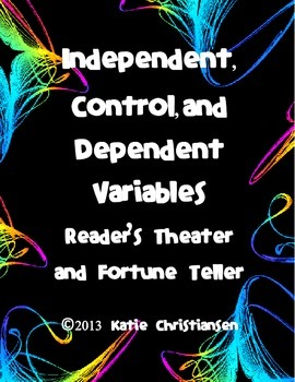 Independent,Dependent,and Control Variables Fortune Teller and Reader's Theater