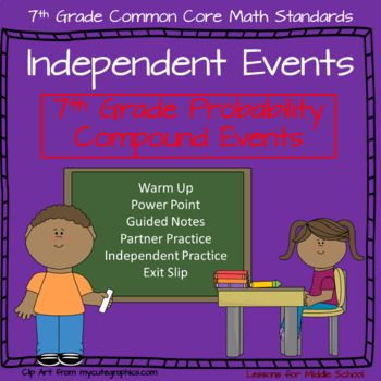 Independent Events - 7th Grade Probability - Compound Events