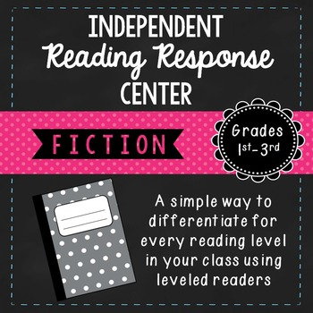Independent Fiction Reading Response Center