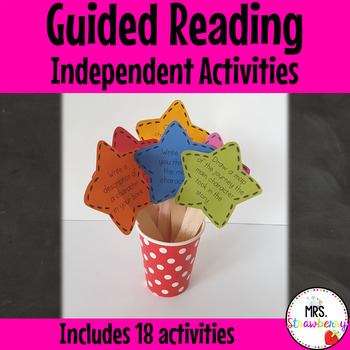 Independent Guided Reading Activities