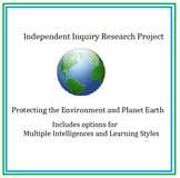 Independent Inquiry Research Project - Protecting the Environment