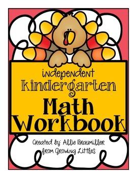 Independent Kindergarten Math Workbook