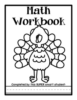 Independent Kindergarten Math Workbook