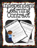 Independent Learning Contract {Math}