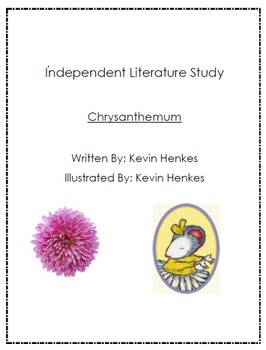 Independent Literature Study Unit : Chrysanthemum Gifted and Talented Project