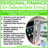 Personal Finance Project with Job Planning, Budgeting, and Financial Choices