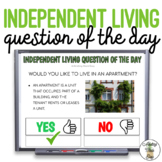 Independent Living Question Of The Day #spedprep3