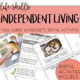 Independent Living Task Cards - Life Skills