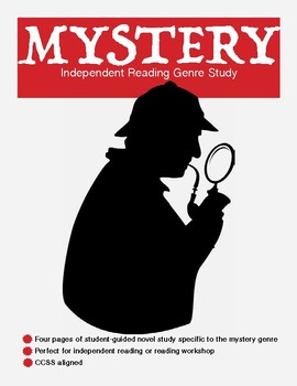 Exploring Mystery and Suspense (independent reading log)