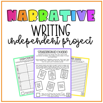 Independent Narrative Writing Activity