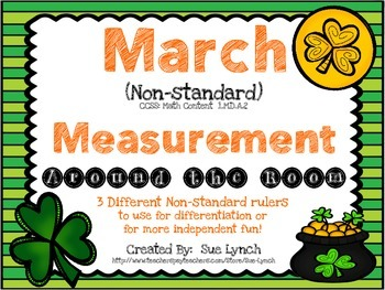 Non-Standard Measurement 1.MD.A.2 (March Theme) Independen