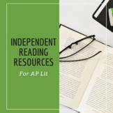 Independent Novel Project - AP English Literature