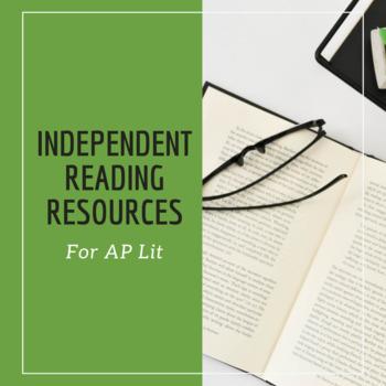Independent Novel Project for AP Lit