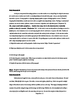 Independent Novel Research Paper Packet