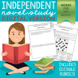 Independent Novel Study (Digital Distance Learning)