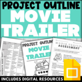 Movie Trailer NOVEL STUDY ASSIGNMENT End of the Year Project for ANY NOVEL