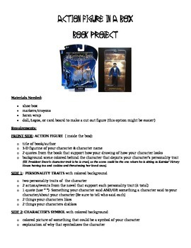 Independent Novel Study - Project Bundle