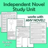 Independent Novel Study Unit- Use with ANY Novel! (generic)