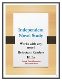 Independent Novel study unit