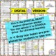 Poetry Project & 6 wk Poetry Unit - Creative Poetry Digital and Print BUNDLE