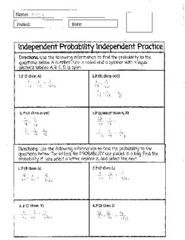 Independent Probability Bundle