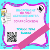 Independent QR Code Listening Center w/ Comprehension GROW
