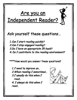 Independent Reader Poster