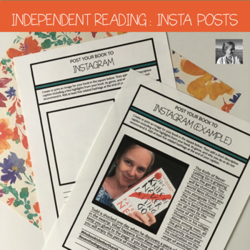 Independent Reading Accountability: Book Instagram Posts