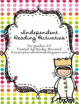 Independent Reading Activities