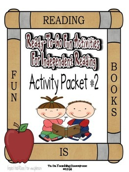 Independent Reading Activities Set #2